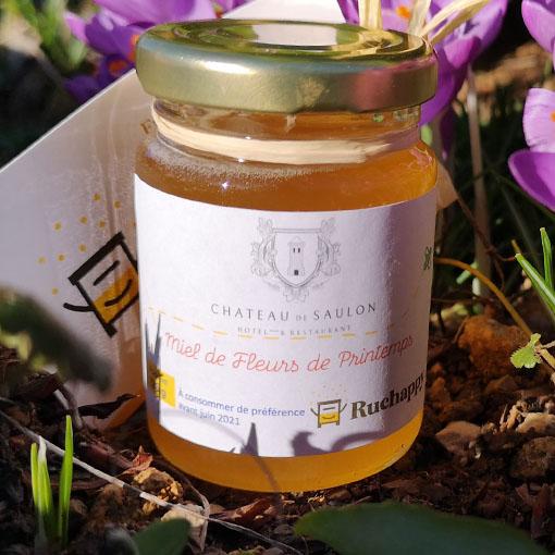 miel des ruches chateau de saulon