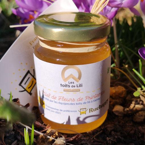 miel des ruches toits de lili